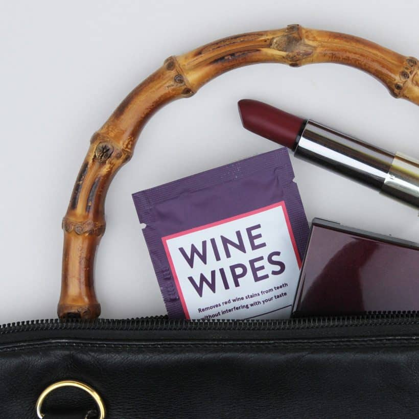 Because Red Teeth are Never Cute, There's Wine Wipes…