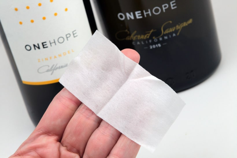 wine wipes travel size Onehope wines Because Red Teeth are Never Cute, Theres Wine Wipes...