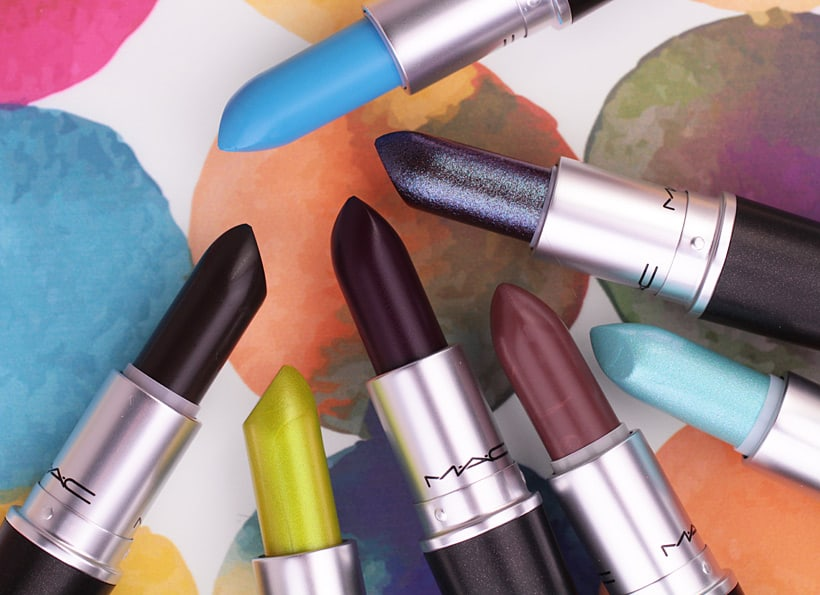 Bold shades MAC Lipstick Banish Boring Lipstick...Choose MAC