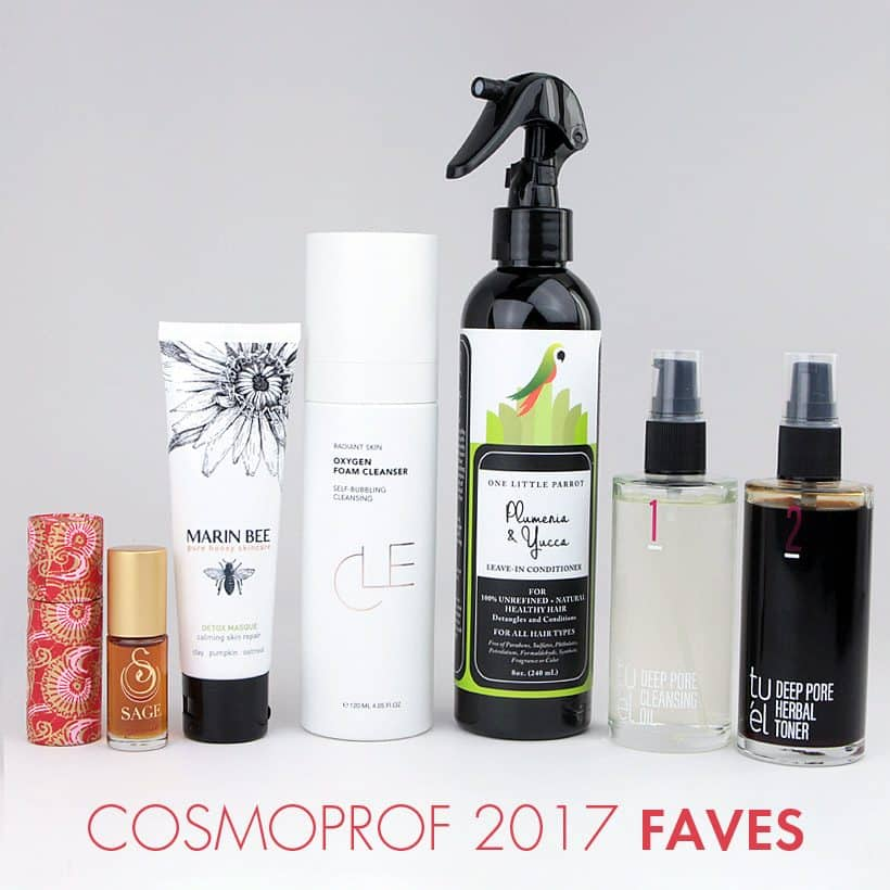 My Five Favorite Beauty Products from Cosmoprof 2017