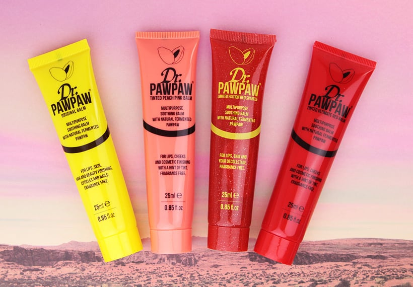 Dr PawPaw tinted peach pink balm A Beauty Hack from Across the Pond: Dr. PawPaw Balm