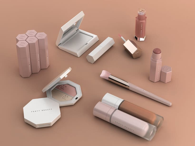 Fenty Beauty Rihanna Collection packaging Give Me ALL the Fenty Beauty