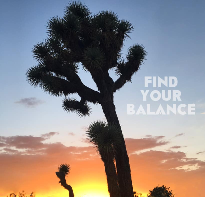 Find Your Balance How Do You Find Your Balance?
