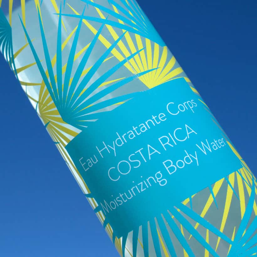 Phytoceane Costa Rica Moisturizing Body Water label Phytoceane Costa Rica Moisturizing Body Water