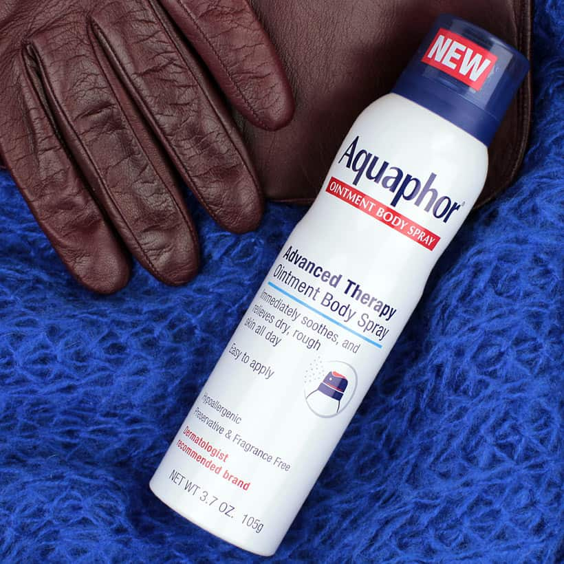 Aquaphor Ointment Body Spray 2 Cold Weather is Coming, Make Sure Your Skin is Ready
