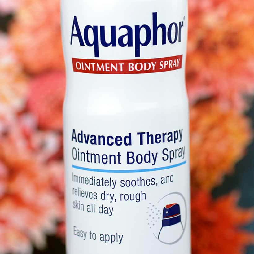 Aquaphor Ointment Body Spray 3 Cold Weather is Coming, Make Sure Your Skin is Ready
