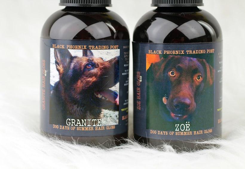 BPAL Zoe Hair Gloss Black Phoenix Trading Post: Dog Days of Summer Hair Gloss
