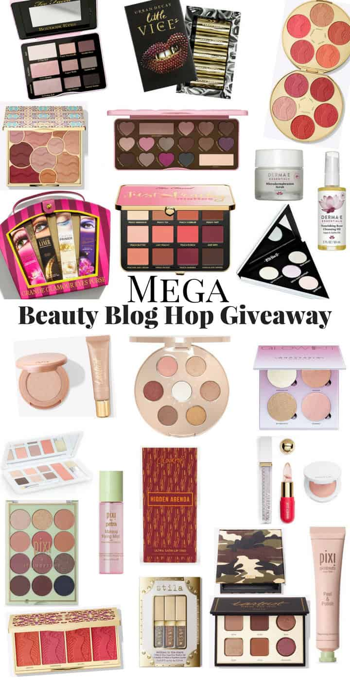 Blog Hop Giveaway Collage Mega Beauty Blog Hop Giveaway: Models Own AM Kit Palette and Ulta Gift Card (plus, much more!)
