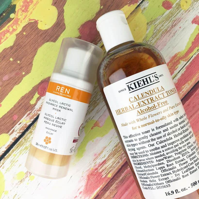 Current Favorite Skincare Lines: Kiehl's and Ren