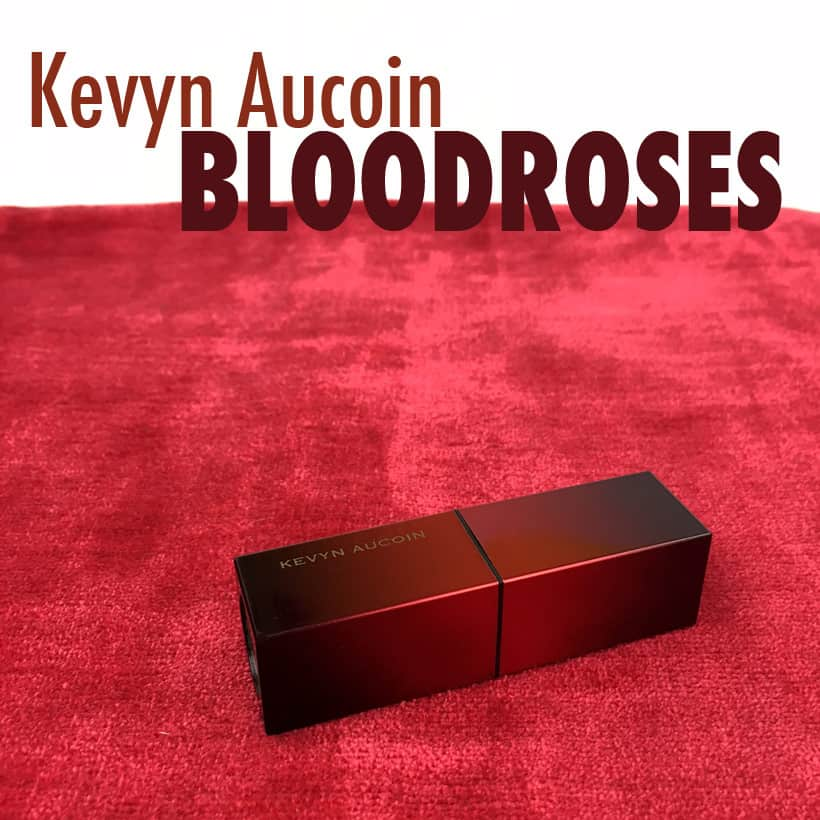 classic dark red lipstick kevyn Aucoin bloodroses