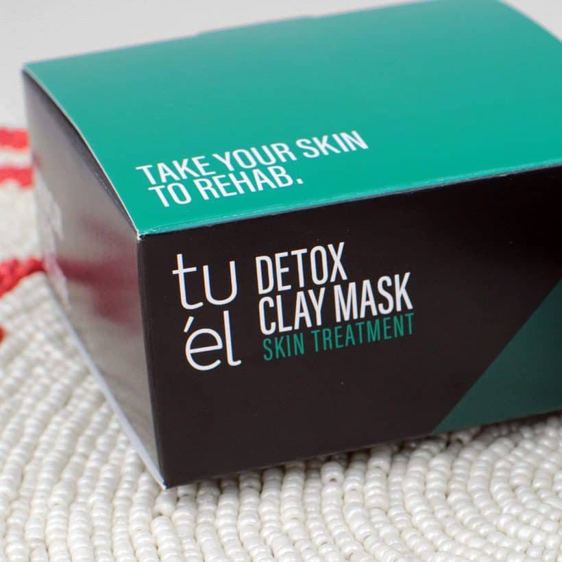 Take Your Skin To Rehab With Tuél Detox Clay Mask Review