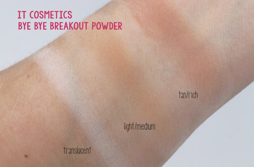 IT Cosmetics Bye Bye Breakout Concealer and Powder | we heart this