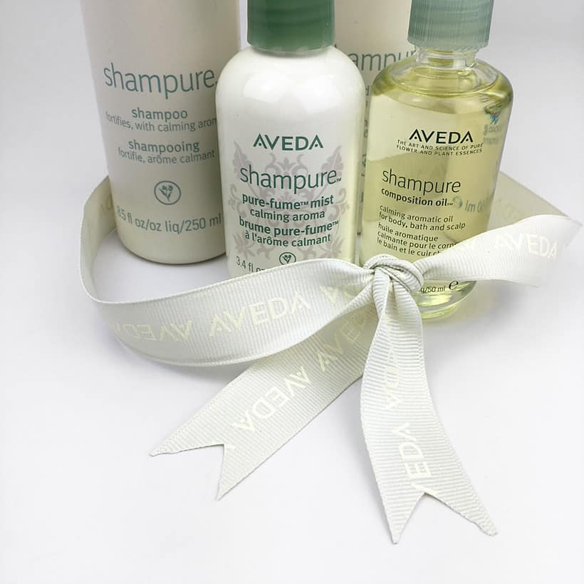 Aveda Shampure holiday gift set Holiday Gift Guide for Fragrance Lovers (that ARE NOT perfume)