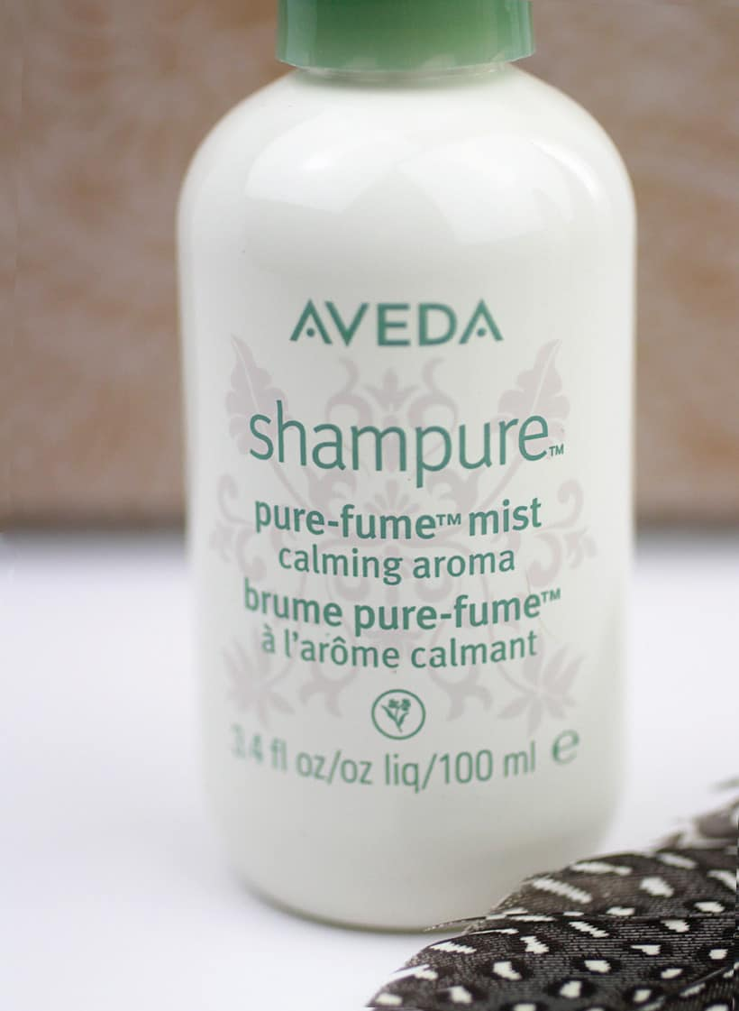Aveda Shampure pure fume mist Holiday Gift Guide for Fragrance Lovers (that ARE NOT perfume)