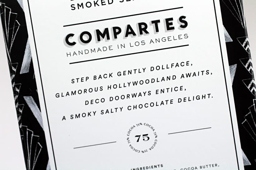 Compartes dark Chocolate sea salt Old Hollywood Holiday Gift Guide for Foodies