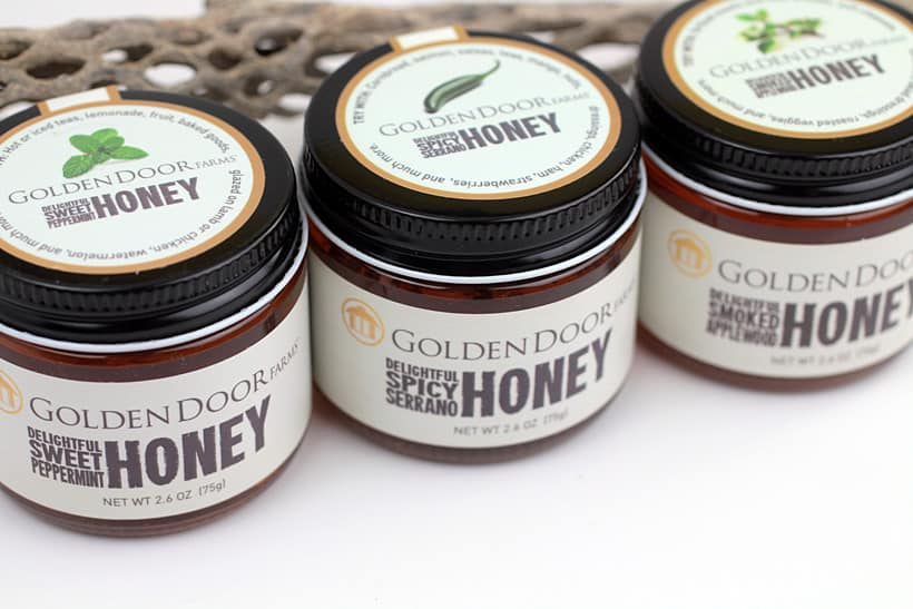 Golden Door Farms Honey gift set Holiday Gift Guide for Foodies
