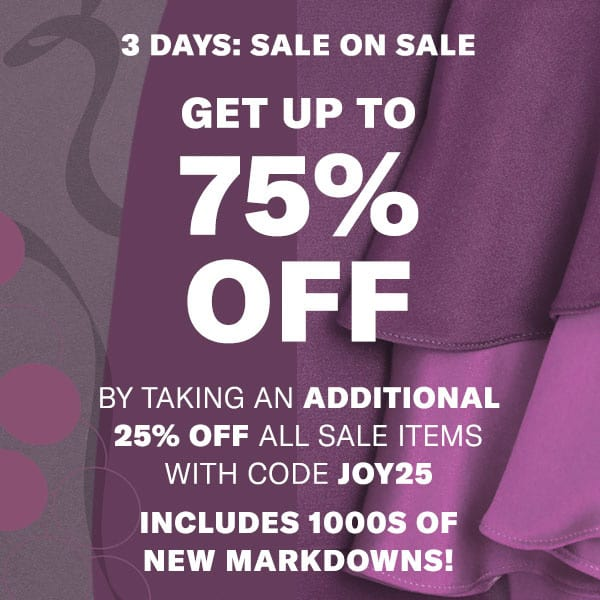 Shopbop 25 off sale december 2017 One Last Shopping Hurrah: Sale is on Sale at Shopbop