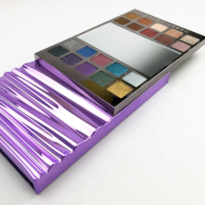 Urban Decay Heavy Metals Metallic Eyeshadow palette review 2 Urban Decay Heavy Metals Metallic Palette swatches, looks and review