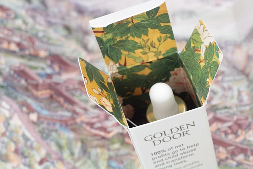 Golden Door Facial Oil packaging 3 Get the Golden Door Experience at Home with Golden Door Skincare