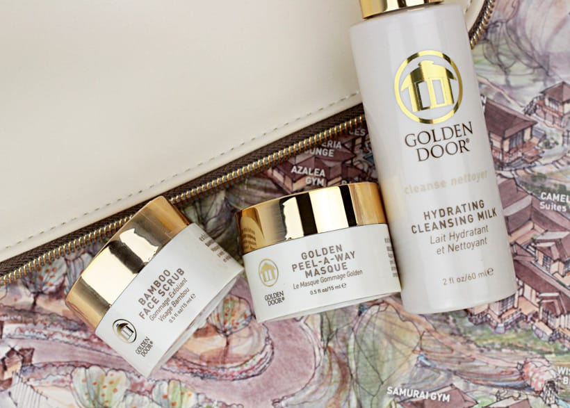 Golden Door Try me kit 5 Get the Golden Door Experience at Home with Golden Door Skincare