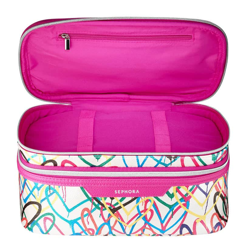 Sephora J Goldcrown Bleeding Hearts makeup bag Five New Beauty Products You Need Right Now