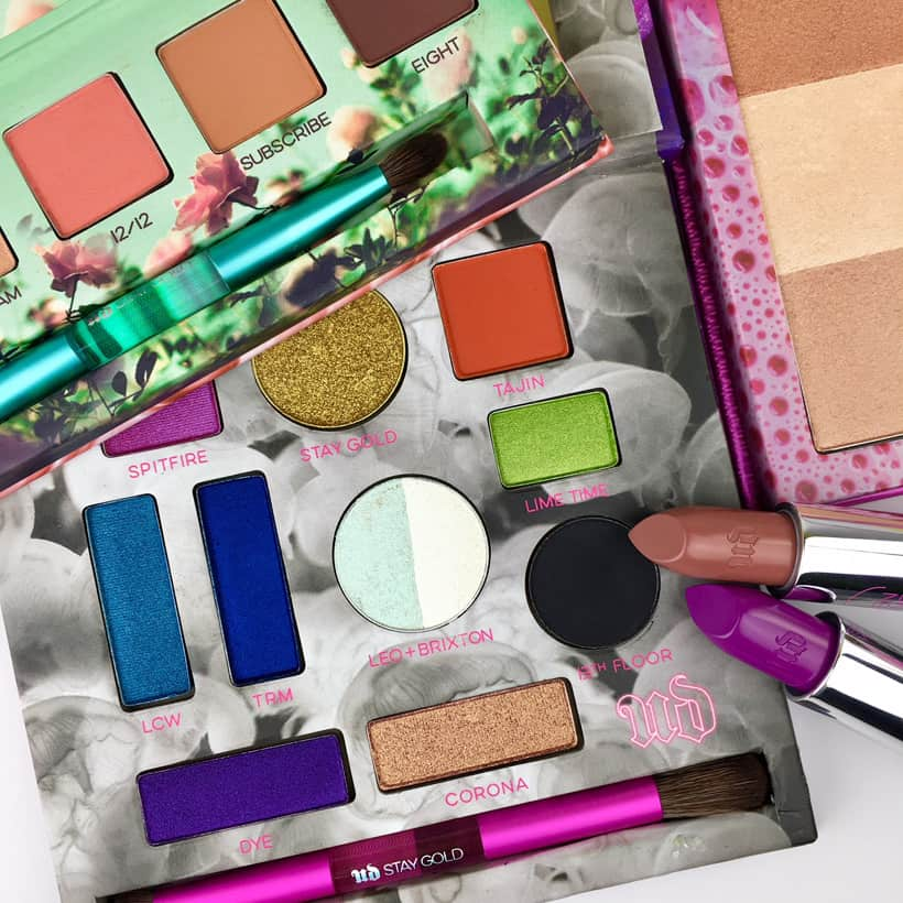 Urban Decay X Kristen Leanne collection What's Your First Beauty Purchase of the New Year?
