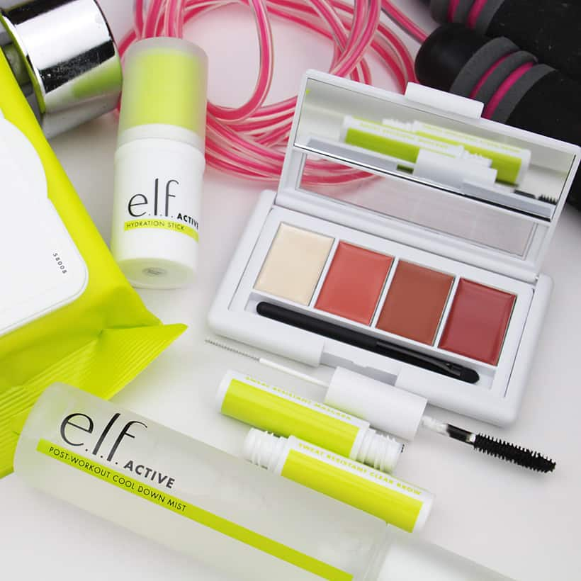 elf active cleansing body wipes The NEW ELF Active collection  it's for everyone!