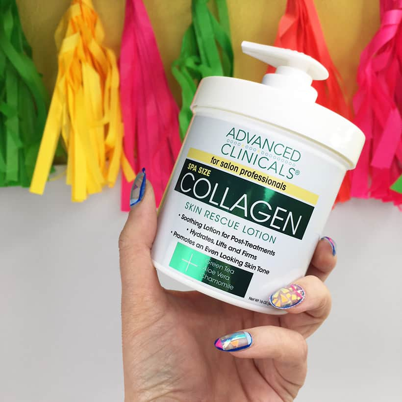 Advanced Clinicals Collagen Lotion Advanced Anti Aging from a Surprisingly Affordable Source