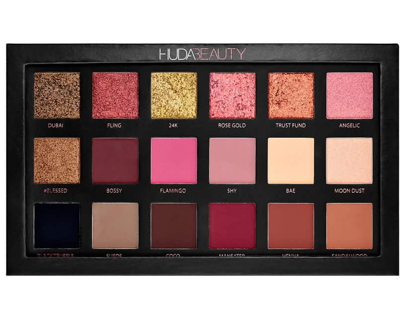 Huda Beauty Rose Gold Edition Eyeshadow Palette review Five Rosy Valentines Day Gifts That Aren't Roses