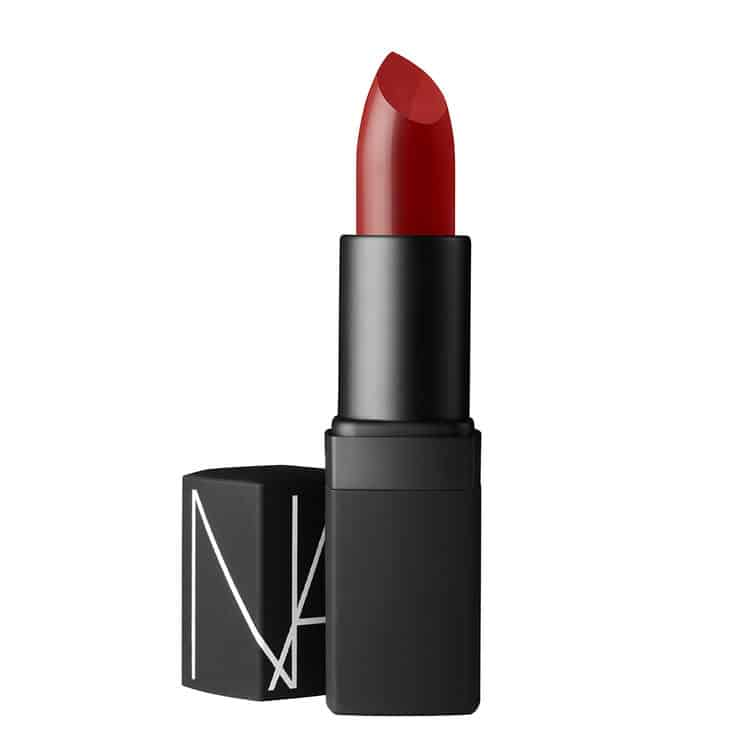 NARS Shanghai Express lipstick review The Perfect Red Lipsticks for Valentines Day (as chosen by we heart this)