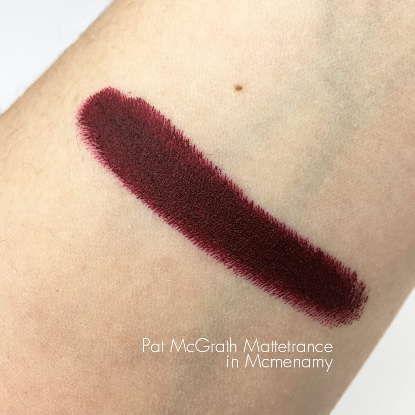 Pat Mcgrath mattetrance lipstick mcmenamy swatches Five Rosy Valentines Day Gifts That Aren't Roses