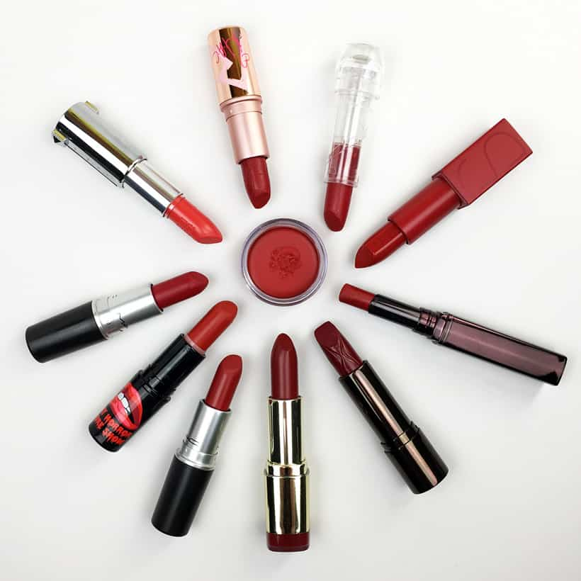 Red Lipsticks for Valentines Day The Perfect Red Lipsticks for Valentines Day (as chosen by we heart this)