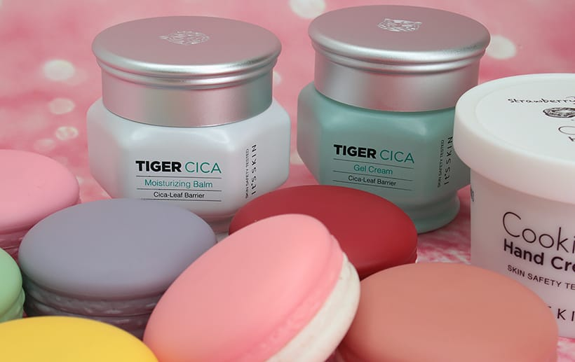 Korean Beauty products from It's Skin using Centella Asiatica