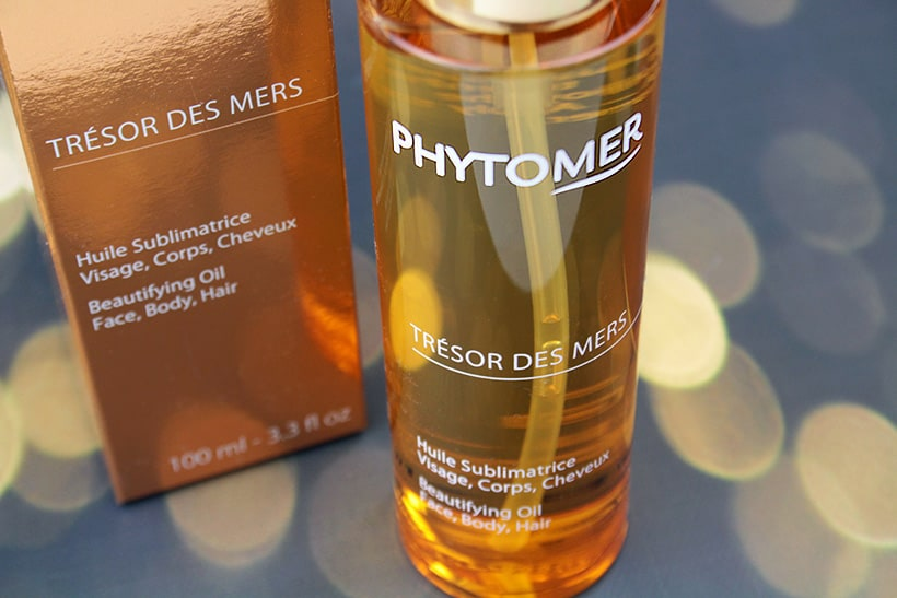 Dreaming of summer with Phytomer Tresor des Mers body oil