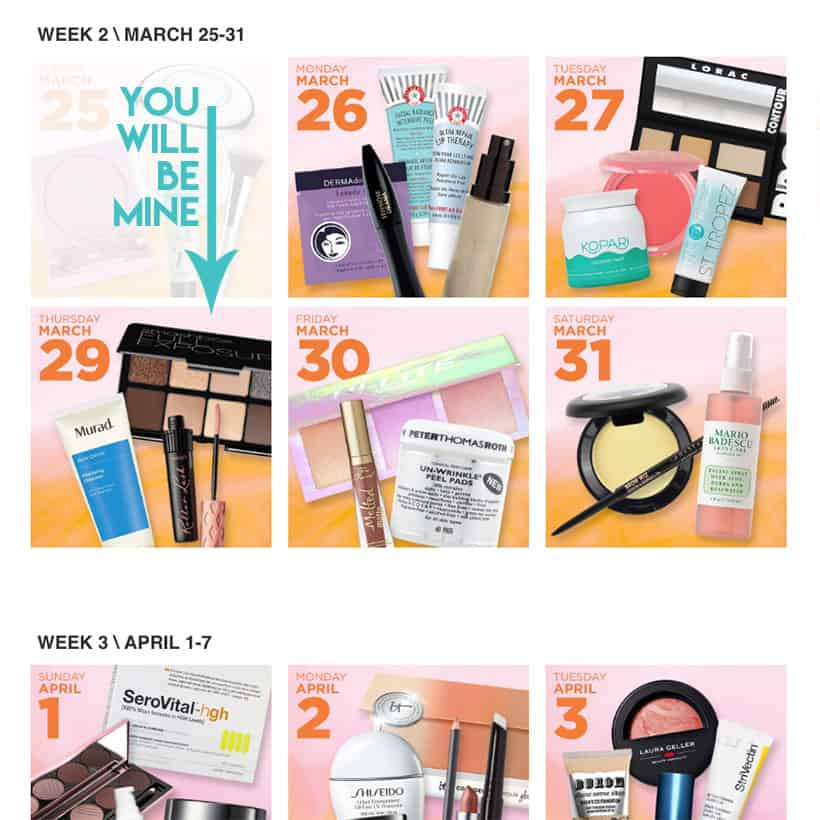 Ulta 21 Days Of Beauty picks B What Are You Buying During the Ulta 21 Days of Beauty Sale?