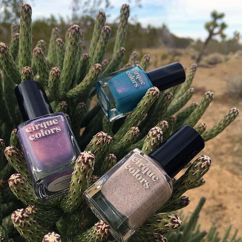 Cirque Colors Desert Bloom nail polish The Desert via Brooklyn; Cirque Colors Desert Bloom Nail Polish