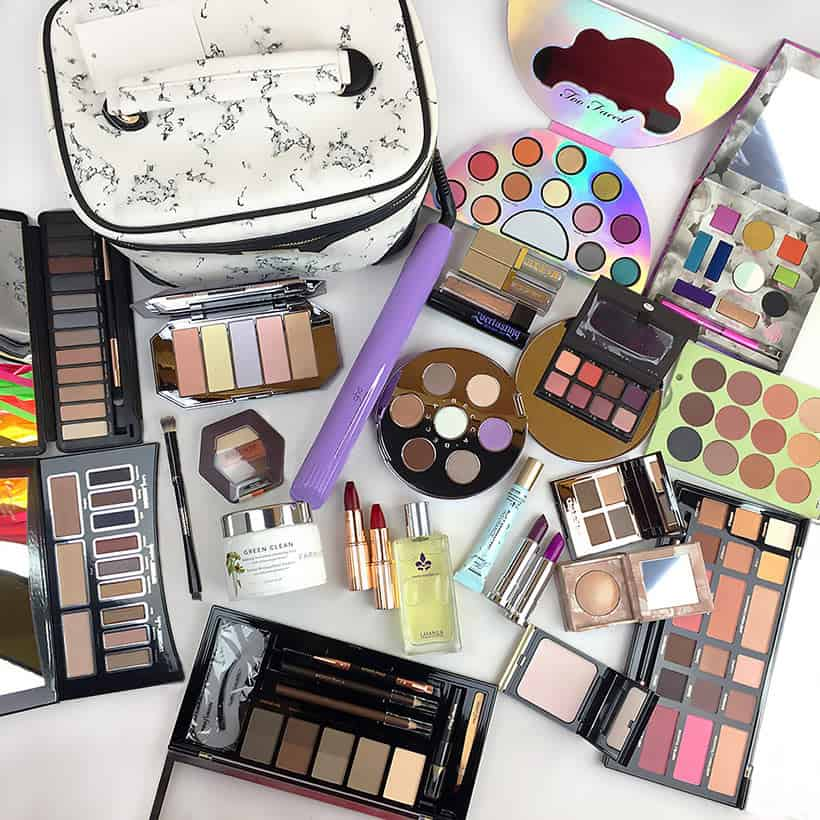 mega giveaway prizes from beauty bloggers