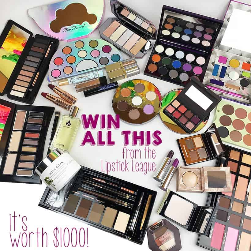 beauty blogger giveaway prizes