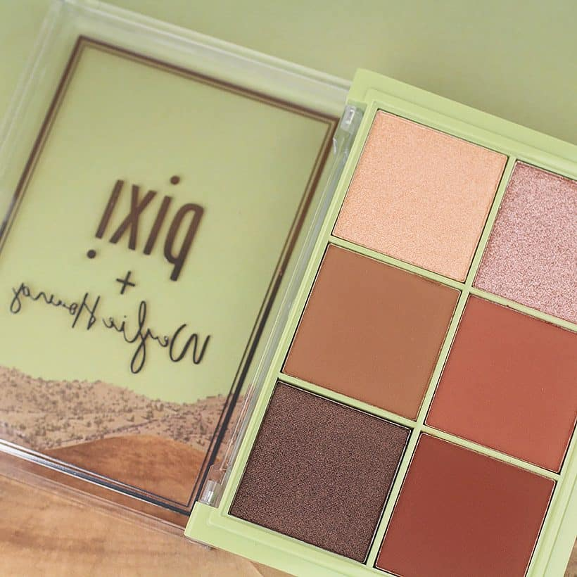 Pixi Weylie Hoang Dimensional Eye Creator Kit swatches and review