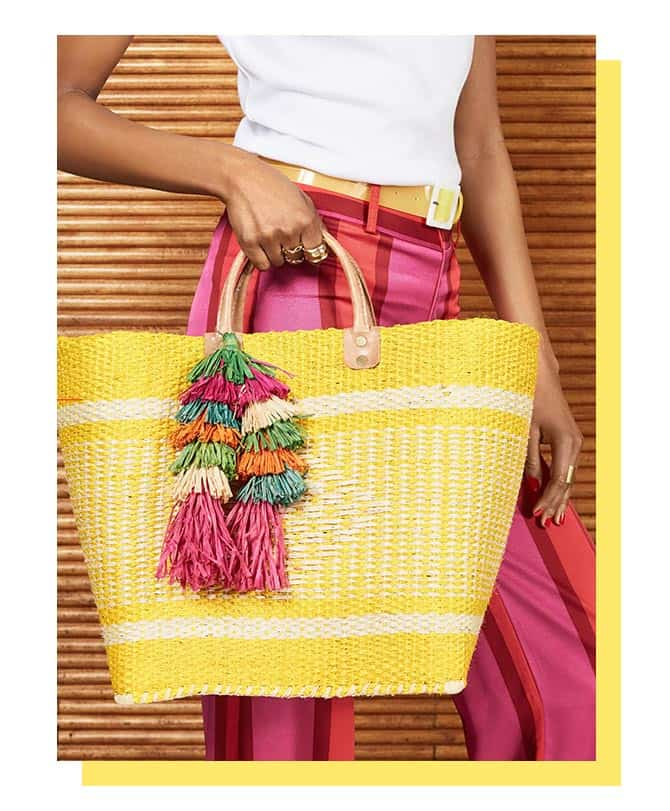 Shopbop Sale spring fashion straw tote Three Key Spring Fashion Pieces You Need (and theyre all part of the Shopbop sale!)