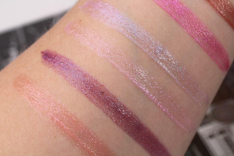 Urban Decay Hi Fi Shine cushion lip gloss swatches 5 New Urban Decay Products You Need Now