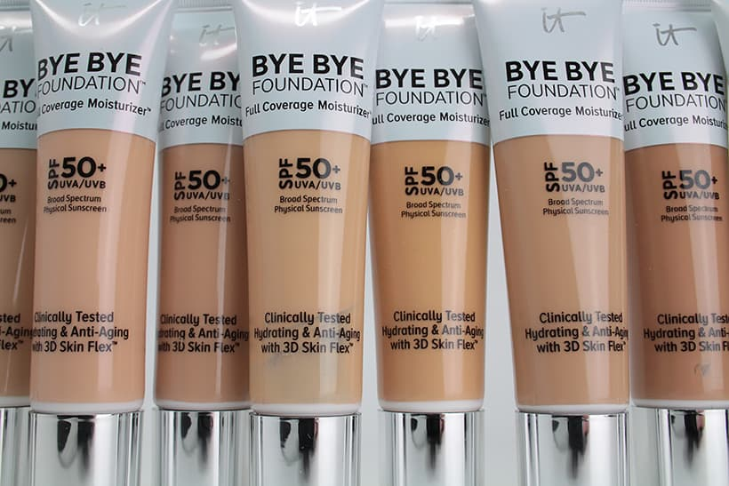 IT Cosmetics Bye Bye Foundation review 3 IT Cosmetics Bye Bye Foundation: swatches of all 12 shades