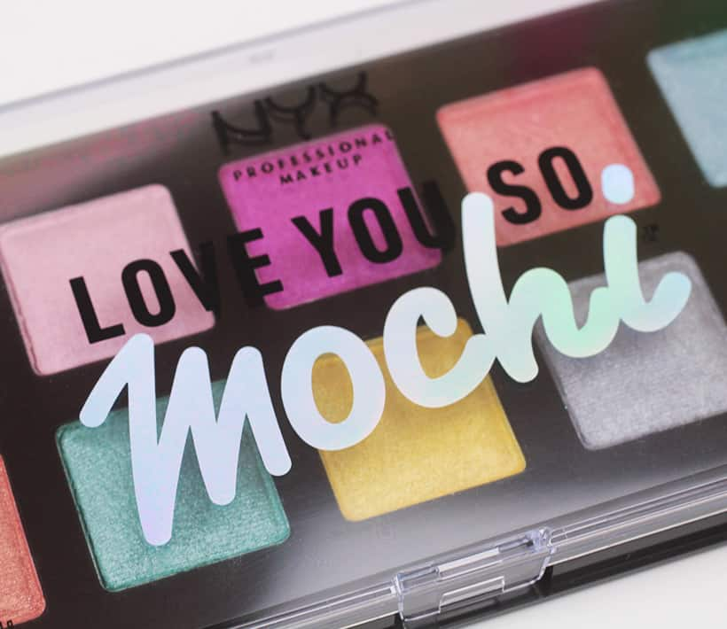 NYX I Love You So Mochi eyeshadow palette logo 3 NYX Eyeshadow Palettes: Big Color, Not Big Price