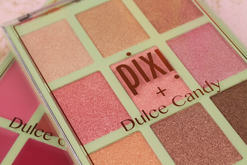 Pixi Cafe con Dulce palette 1 Pixi Dulce Candy Palettes Swatched