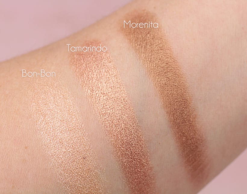 Pixi Cafe con Dulce palette swatches 2 1 Pixi Dulce Candy Palettes Swatched