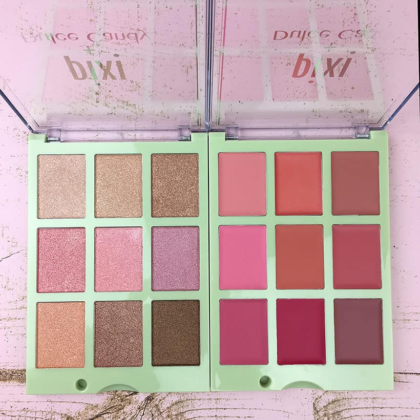 Pixi Dulce Candy palettes Pixi Dulce Candy Palettes Swatched