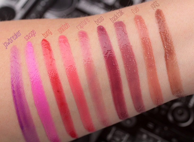 Urban Decay Hi fi Shine lip gloss jawbreaker cream swatches 2 Urban Decay Hi Fi Shine Lip Gloss: Swatches of all 20 Shades