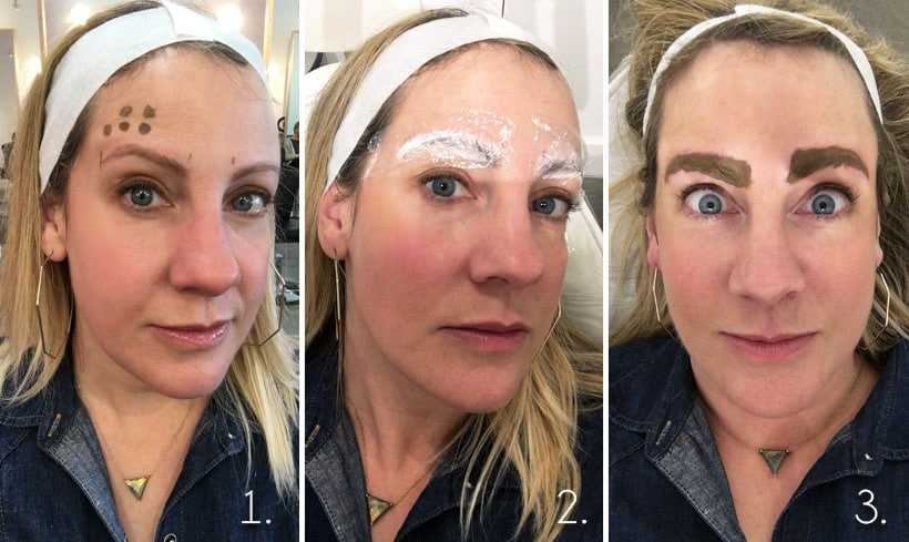Before After During Microblading Photos Before and After Microblading Photos (And Why the Healing Process is A LOT Easier Now...)