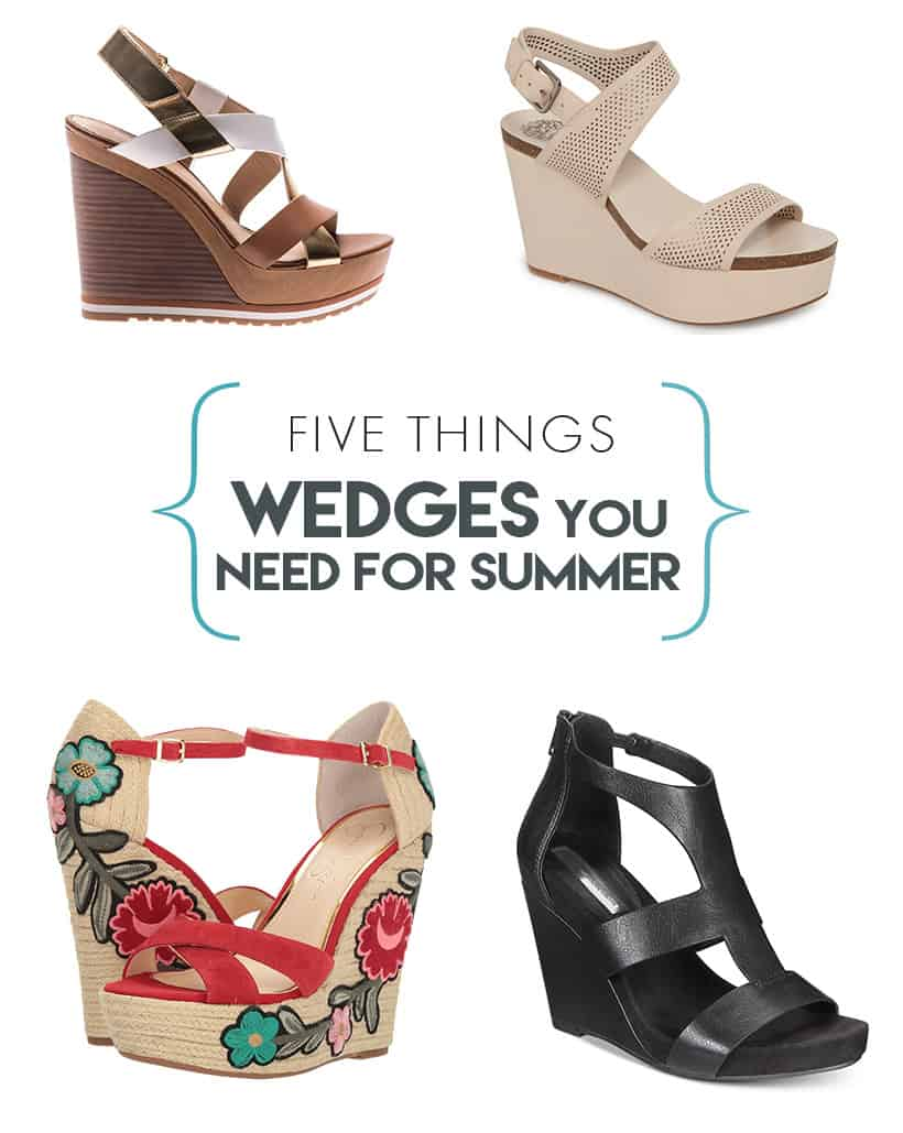 Wedge Sandals make your legs look longer