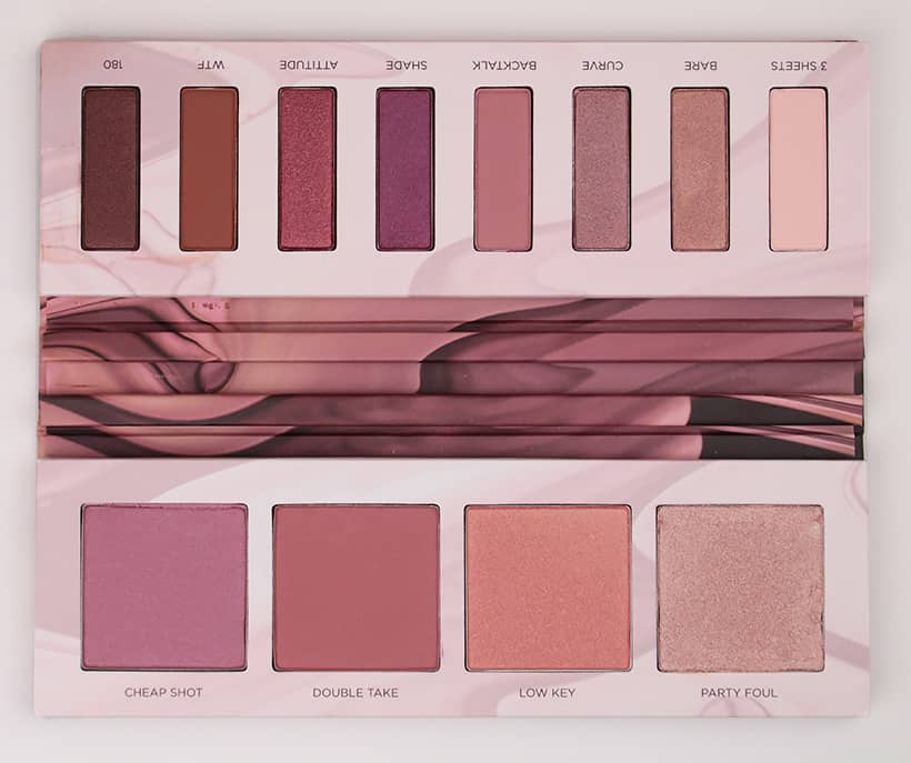 Urban Decay Backtalk palette whole view An Eyeshadow Palette Based on a Lipstick? Its a Genius Idea...